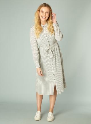 IVY BEAU jurk Nina   4000078Sand/Blac36
