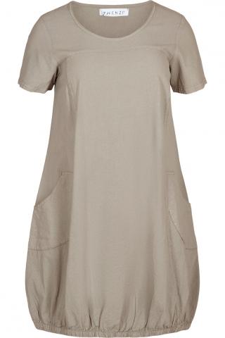Zhenzi jurk Amin katoen crepe | 2704105chatM=46-48