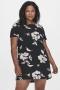 ONLY Carmakoma jurk CARLUXDAZZ | 15236233Blac/flow50