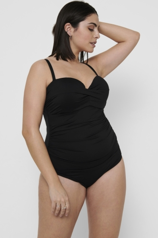 ONLY C badpak CARELLY SWIMSUIT | 15238241blac/leop50