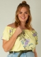 Yesta shirt off-shoulder   A000899geel/bloe2(50)