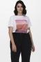 ONLY Carmakoma shirt CARZIM   15230482Brig/whitS-42/44