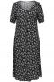 ONLY Carmakoma jurk CARFLOWLY   15241247blac/pusf42