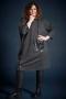 Gozzip jurk Luna ruit grote PU zak   G215215Blac/ChecM=46/48