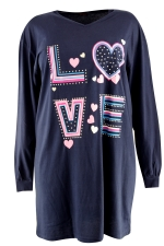 Slaapshirt lm Entex one size love me