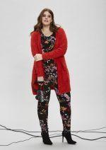 Broek Zhenzi tricot bloem print