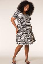 Jurk MIAMI Ivy Bella zebra print