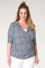 Shirt overslag Ivy Bella 72cm lang