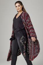Vest Mat fashion grof gebreid
