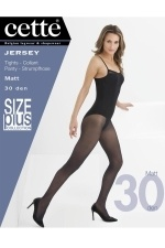 Cette panty Jersey 30den