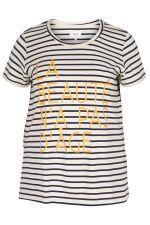 Shirt Zizzi MAGGIE met tekst