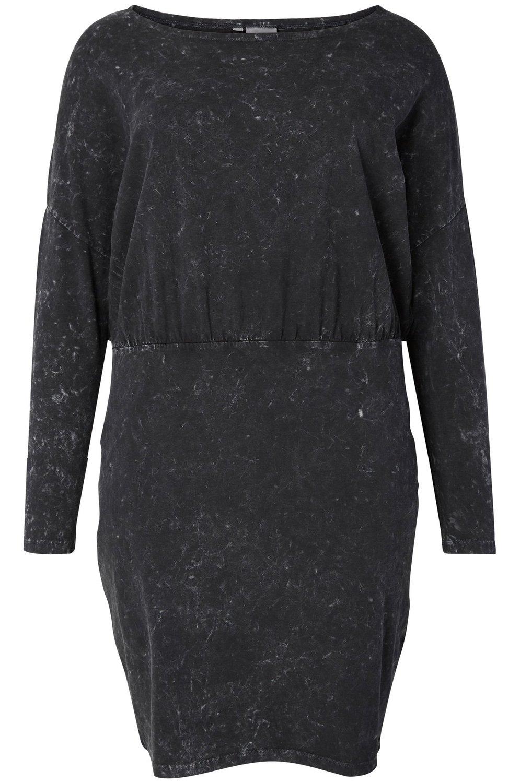 Jurk MONA Junarose vlek tricot black