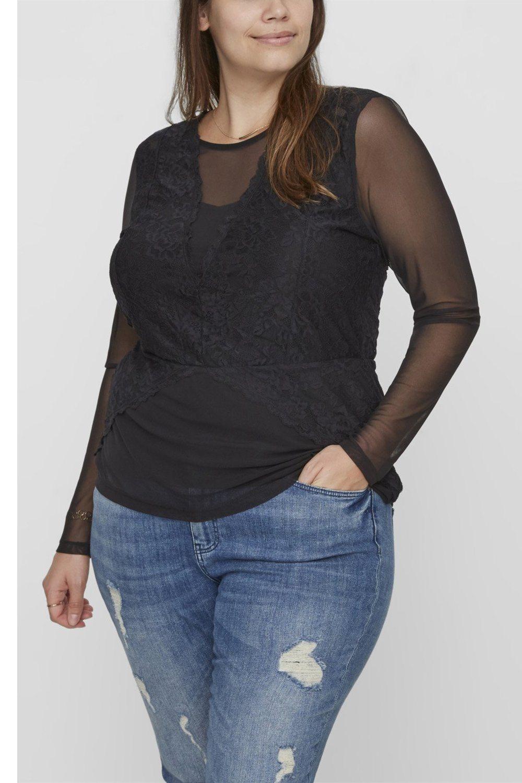 Shirt NALIA Junarose voile details