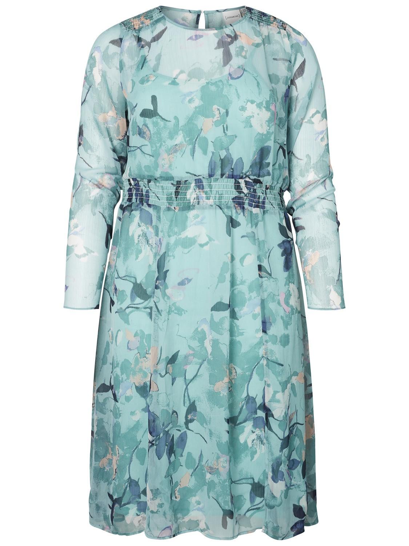 Junarose jurk Emilija green/aop