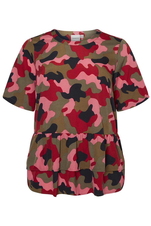 Shirt Junarose Liw army print