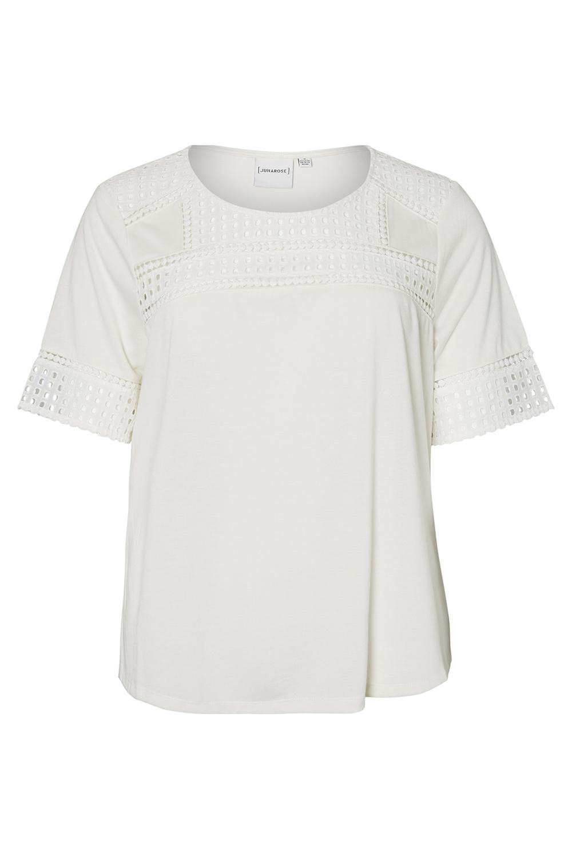 Shirt Junarose Faber gehaakte detail