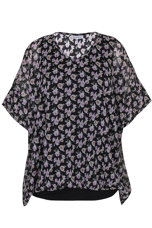 Shirt Zhenzi LINNET bloemprint