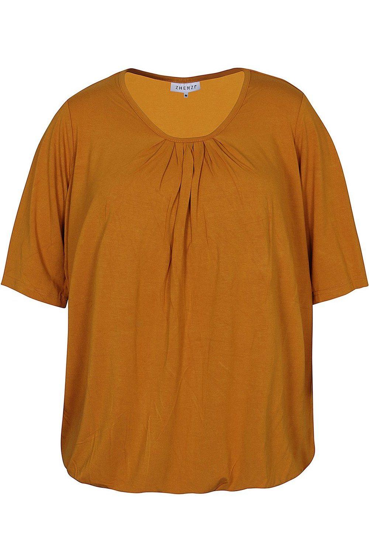 Shirt Zhenzi HAVANA plooi hals