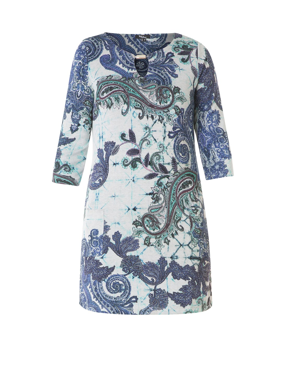Tuniek Ivy Bella blauw print