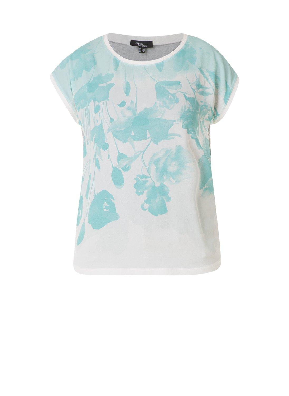 Shirt Ivy Bella print met uni achter