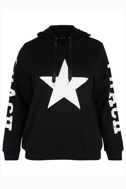 Sweater Zizzi VEGAS witte ster
