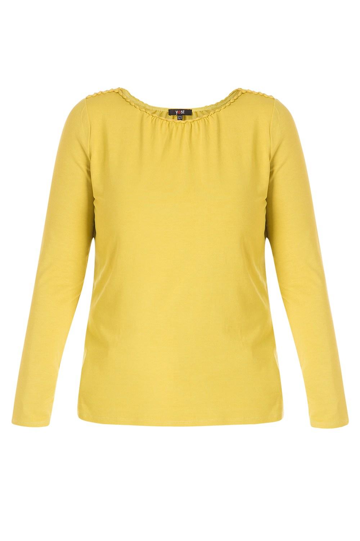 Shirt Yesta hals details