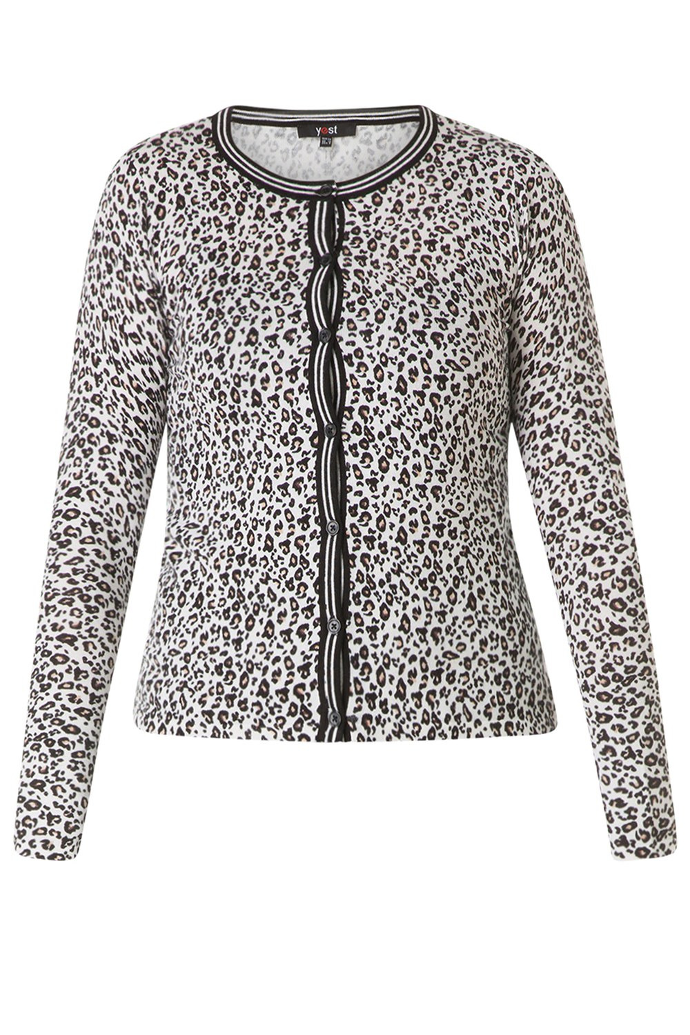 Vest Yesta kort animal print