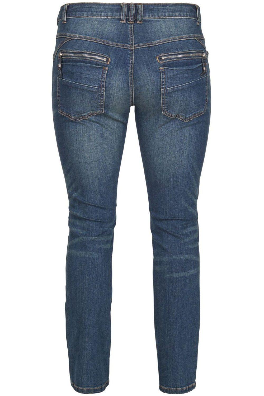 Broek Zizzi Sanne slim jeans