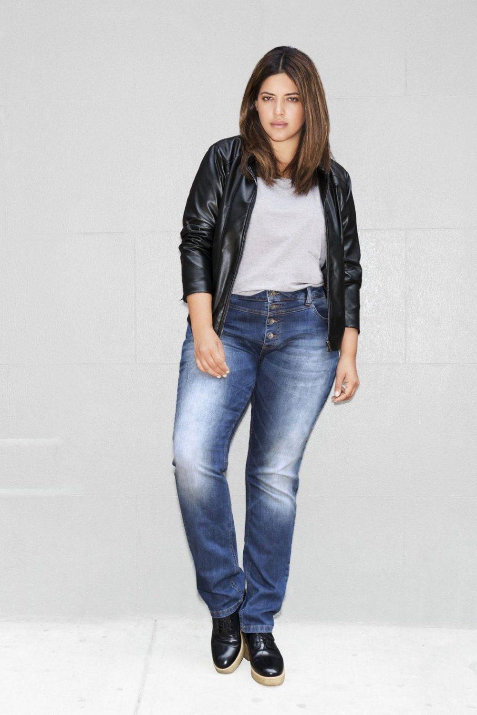 Jeans Zizzi, Nille slim fit Blue