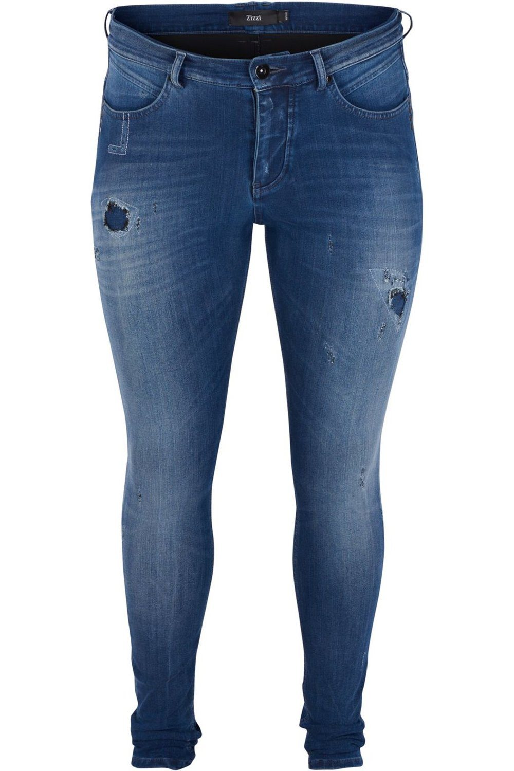 Jeans Zizzi Amy destroyed effects