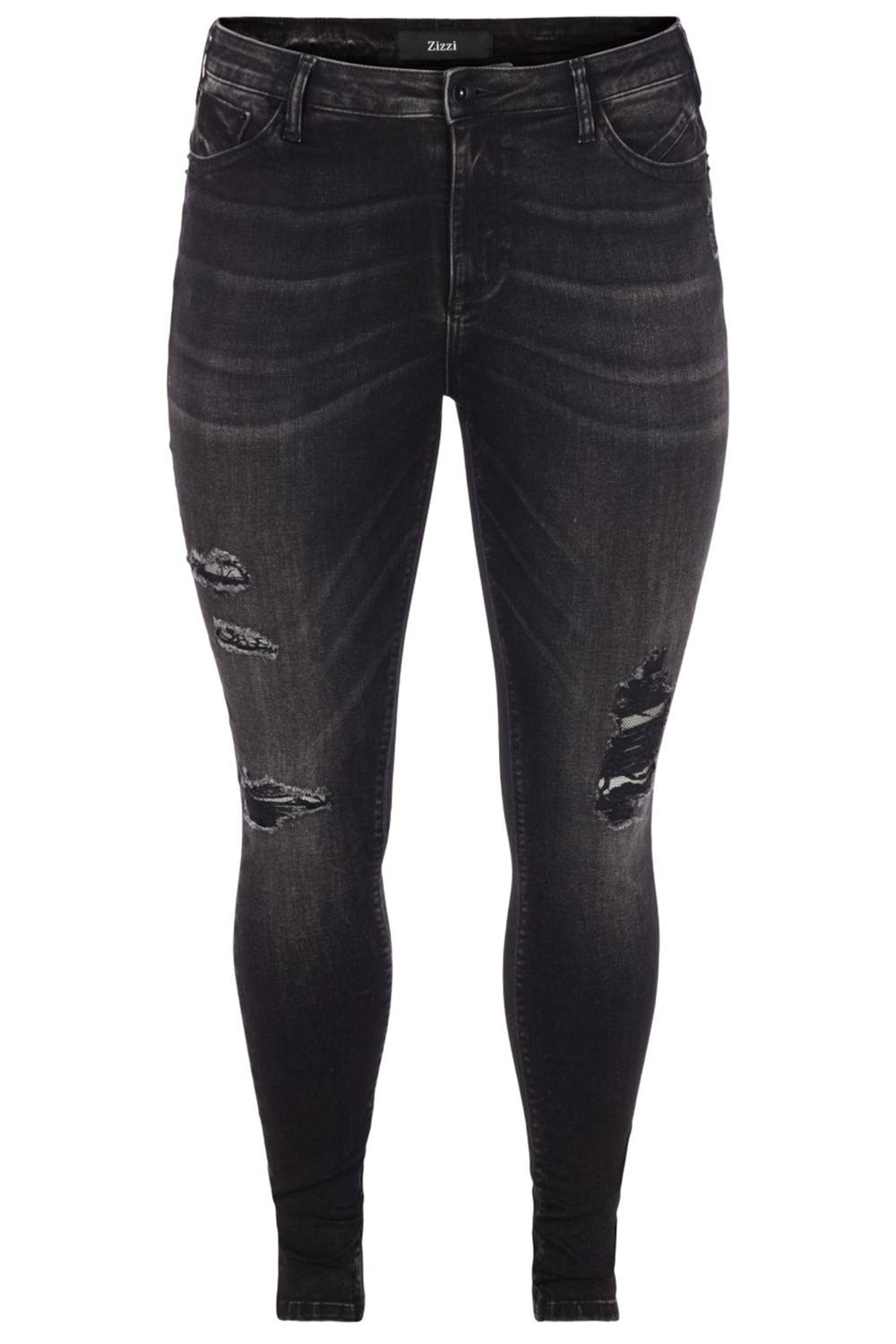 Jeans Zizzi AMY destroyed look