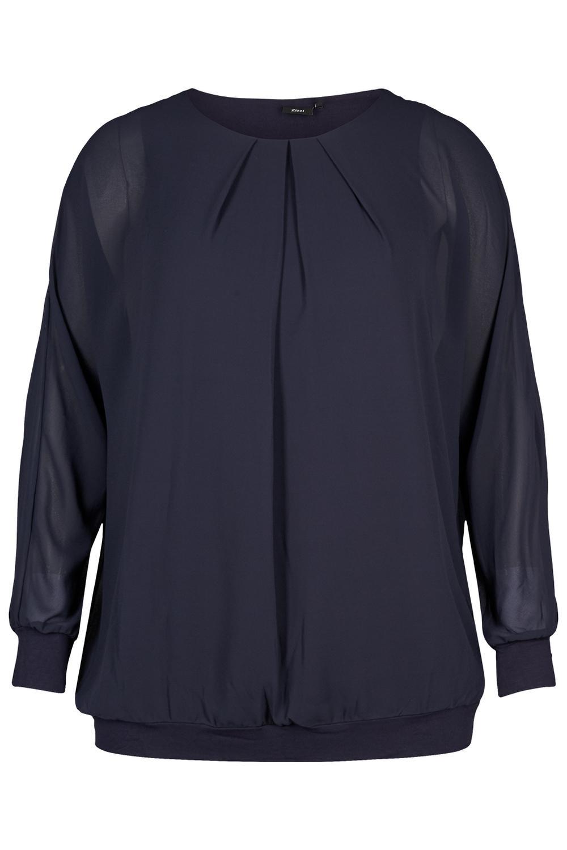 Shirt Zizzi ESTHER voile