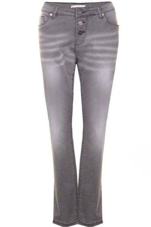 Jeans Studio knoop gulp